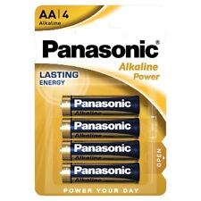 Pack 4 Pilas Cilindricas Original PANASONIC AA de 1,5V Alcalina Blister b29