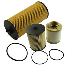 6.4L TURBO Diesel Engine 1 OIL FILTER AND 1 FUEL FILTER KIT FOR FORD Powerstroke