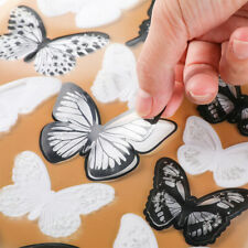 54 Pcs 3D Butterfly Wall Stickers PVC Children Room Decal Home Decoration Decor
