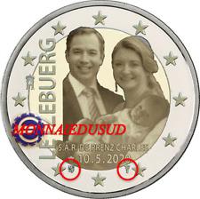 2 Euro Commémorative Luxembourg 2020 - Naissance Princière Photo UNC NEUVE