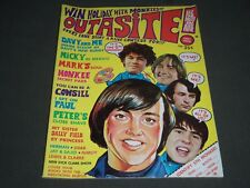 1968 FEBRUARY OUTASITE! MAGAZINE - FIRST ISSUE - MONKEES COVER - ST 4910