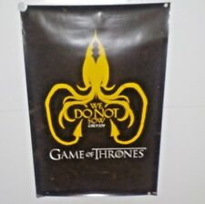 HBO GAME OF THORNES We DO NOT Sow Grey Joy Poster Size 36 x 24
