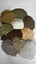 Organic Soil Amendment Mix-kelp neem alfalfa crab bat guano rock dust azomite