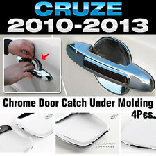 Chrome Door Catch Handle Under Molding Cover trim for CHEVROLET 2010-2014 Cruze