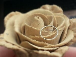 Nose Ring * 14K Gold Filled * gf 22 gauge ga Hoop Earring Cartilage Helix Tragus
