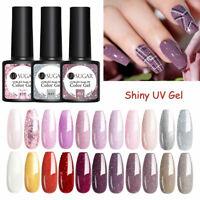 UR SUGAR 7.5ml Glitter Nail Gel Polish Colorful Soak Off UV LED Gel Varnishes