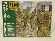 Revell #02510, Sowjetische Infanterie Wwii,1/72 Scale, Soviet Infantry