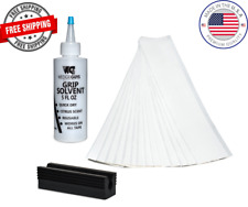"""Golf Club GRIP KIT 40 Tape Strips (2""""x10"""") -Solvent-Vise Clamp- Instructions"""