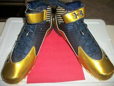 NOTRE DAME GAME ISSUED FOOTBALL SHOES - SIZE 18