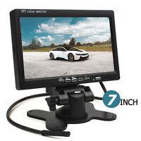 7Inch Color LCD HD 800 x 480 HDMI + VGA DVD VCR 2CH Auto Car Rear View Monitor