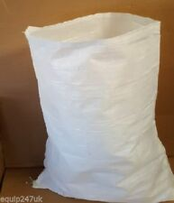 More details for 100 x woven large extra heavy duty rubble sand bag sacks polypropylene builder