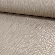 Debona Crystal Pattern Textured Stripe Glitter Motif Vinyl Wallpaper Gold 9002