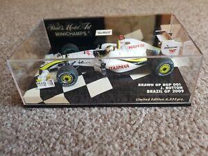 Minichamps F1 Brawn 1:43 Jenson Button Winner Brazil GP 2009