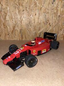 RC Auto Kyosho Ferrari F189 - ohne Technik zum Wiederaufbau - Maßstab 1:10