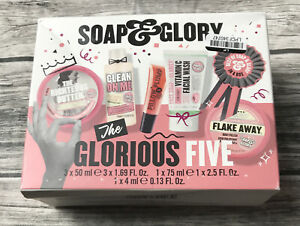 """Soap and & Glory """"The Glorious Five"""" Box Set New & Sealed, Box Dented"""