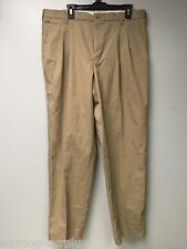 CINTAS THE COMFORT PANT KHAKI DOUBLE PLEATED SIZE 38