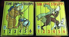 TIM UND STRUPPI VHS SAMMELBOX Nr. 1 + 2 Rarität/ Sammlung/ Konvolut/ Kult.