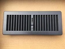 1x Floor Register Floor Vent Cover Ducted Heating 300 x 100mm vents drk grey