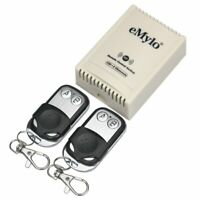 eMylo DC 12V 2CH RF Relay Smart Wireless Remote Control Light Switch 433Mhz