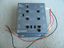 Coustic XM-3 Mobile Electronic Crossover Car Stereo Applications