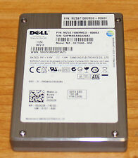 "Lot of 4 Dell 100GB SATA 2.5"" SSD G5G38  MZ-5S71000-0D3 Solid State Drive"