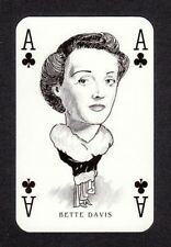 Bette Davis Hollywood Caricature Playing Card  Have a Look!