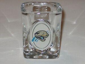 Jacksonville Jaguars Team Logo Shot Glass with Pewter Emblem Logo