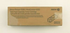 GENUINE XEROX HIGH CAPACITY BLACK toner cartridge 106R01597 6500 6505