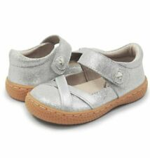 New LIVIE & LUCA Shoes Serena Shiny Silver 8 10