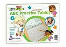 Fisher Price ABC Practice Tablet 12 x 9 Inches 40 Sheets with Practice Guide