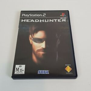 HEADHUNTER PS2 Playstation 2 Video Game PAL - Complete