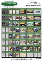 Southern Railway SR Posters - O Gauge 7mm - Die Cut Self Adhesive Model Railway