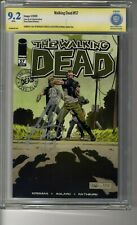 Walking Dead # 57 - CBCS 9.2 WHITE Pages SS Michael Cudlitz - Deaths  Andy Craig