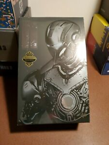 2012 Hot Toys Marvel Iron Man Mark II 2 Armor Unleashed Exclusive MMS 150 w/ Box