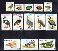 MALAWI 1975 SG473/85 set of 13 Birds - unmounted mint, Catalogue £55