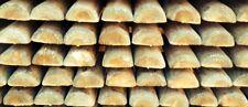 Mezzi Pali in legno di PINO TORNITI impregnati in AUTOCLAVE da 8x250