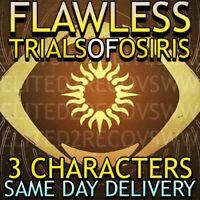TRIALS OF OSIRIS | FLAWLESS X4 / 1 PER WK / 4 WKS | XBOX / CROSS SAVE