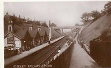 Moseley Railway Station Birmingham RP pc used about 1910 Greville House Series