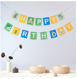 Happy Birthday Banner with Shiny Foil Gold Letters Birthday Party Decoration