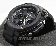 New Casio GSTS100G-1B G-Shock G-Steel Black Solar Ana-Digital Men's Watch