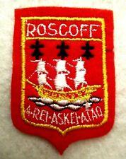 ECUSSON ROSCOFF ♦️ A REI ASKI ATAO ♦️ DONNER ET FRAPPER TOUJOURS ♦️ Brodé ♦️