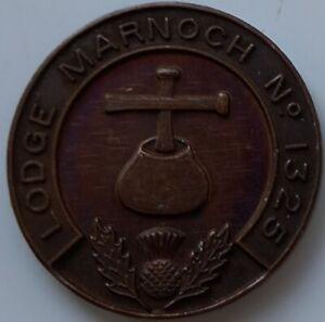 MASONIC MARK TOKEN PENNY LODGE MARNOCH 1325