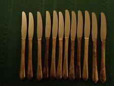 Vintage WM A. Rogers SP Butter Knives (12)Oneida LTD A1 Plus Meadowbrook Heather