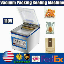 360w Commercial Vacuum Sealer System Sealing Machine Packing Food Saver Chamber