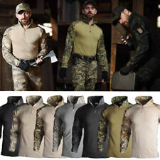 Outdoor Camouflage Clothing Military Tactical Combat Airsoft Paintball Uniform