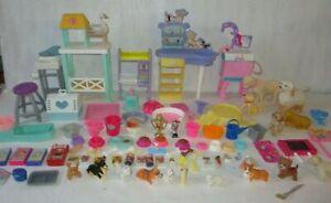 Barbie Pet Center Vet  Pets Accessories Toy Lot Bundle