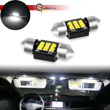 Bright White 6000K 31MM DE3175 DE3021 LED Map Light Bulb for Toyota Tundra 00-04