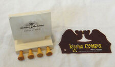 Kissing Camels Golf Bag Tag & Tommy Bahama Challenge Wooden Golf Tees Jan 1 2005
