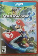 Mario Kart 8 (Nintendo Wii U, 2014) CIB Complete w/ Manual - - FREE SHIPPING