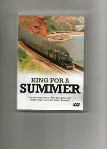 """LIVESTEAM LOCOMOTIVE DVD """"KING FOR A SUMMER"""" Superb filming and top quality A1+"""